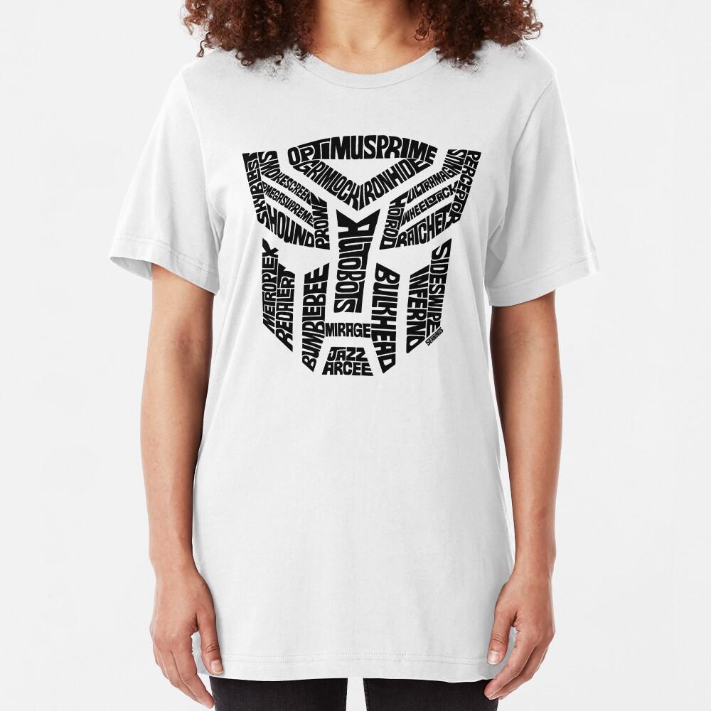 Transformers Autobots Slim Fit T-Shirt
