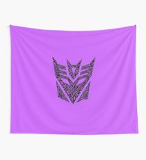 Transformers Decepticons Wall Tapestry