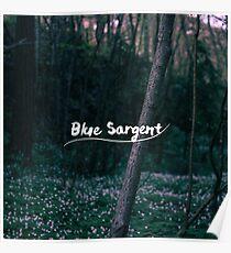 Blue Sargent Poster