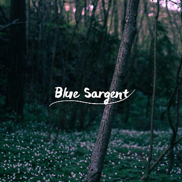 Blue Sargent by bookbrd
