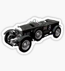 Bentley 4.5 litre vintage car Sticker