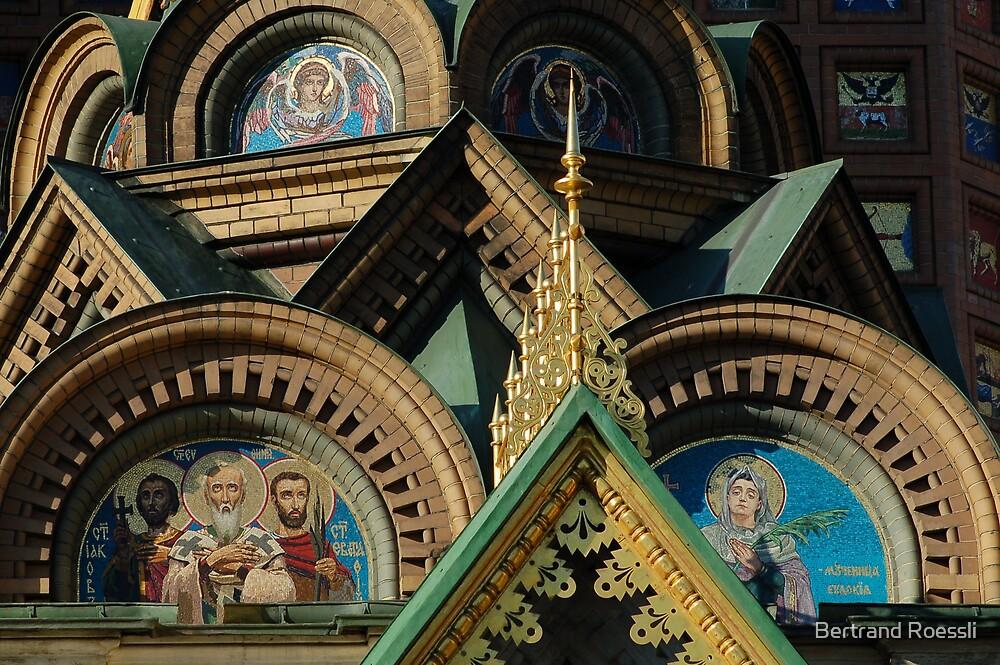 Savior on the Blood Church by Bertrand Roessli