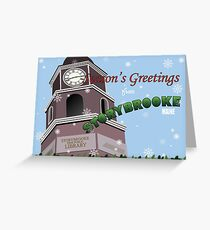 Once Upon a Time - Season's Greeting from Storybrooke Greeting Card