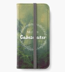 Meet me in Cabeswater iPhone Wallet/Case/Skin