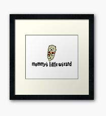 Mommy's Little Wizard Framed Print