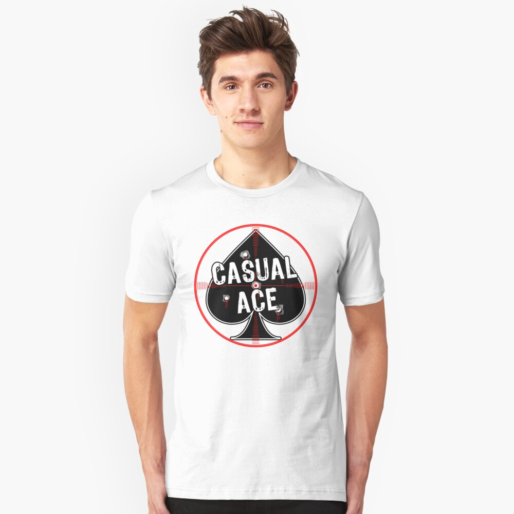 Casual Ace [Roufxis - RB] Unisex T-Shirt Front