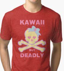 Kawaii But Deadly Tri-blend T-Shirt