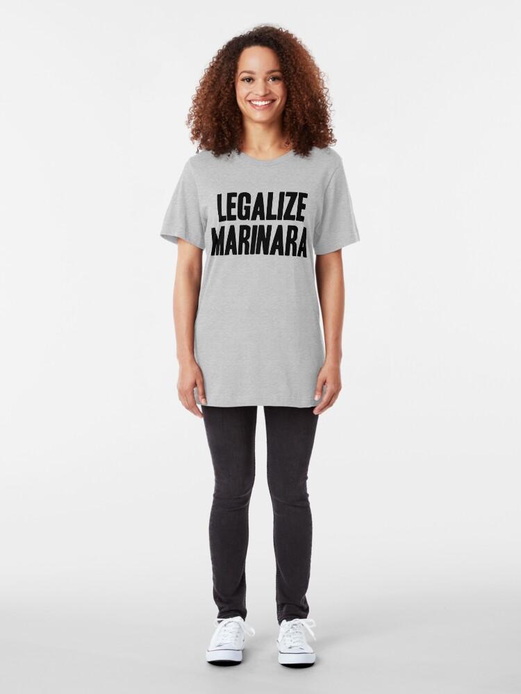 Alternate view of Legalize Marinara Slim Fit T-Shirt