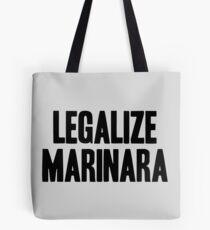Legalize Marinara Tote Bag