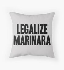 Legalize Marinara Floor Pillow