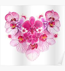 Heart of Orchids Poster