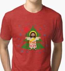 Jesus - Christmas Tri-blend T-Shirt
