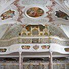 Baroque organ, Maria Medingen, Germany by Jenny Setchell