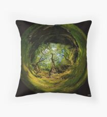 Ness Glen, Mystical Irish Wood Floor Pillow