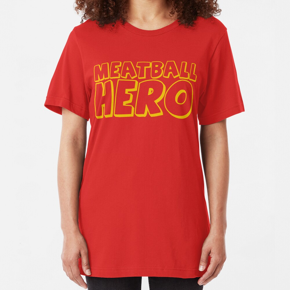 Meatball Hero Slim Fit T-Shirt