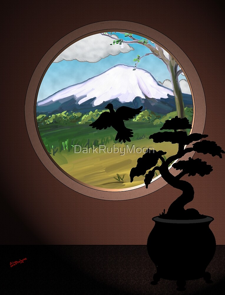 Window to the Orient by DarkRubyMoon