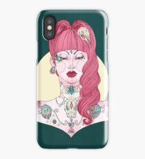Betty Tattoo Girl iPhone Case/Skin
