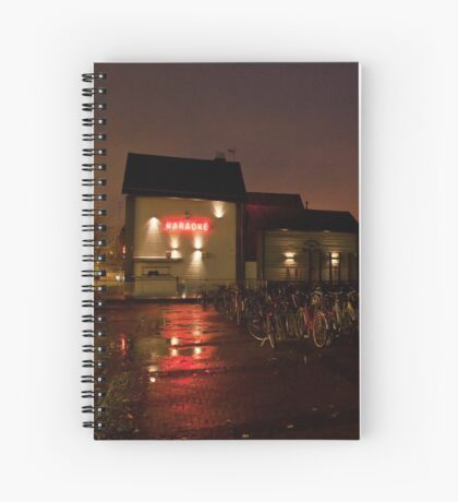 Karaoke club Spiral Notebook