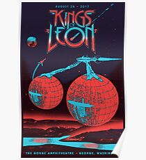 Kings of Leon - August 26, 2017 The Gorge Amphitheatre . Washington Poster