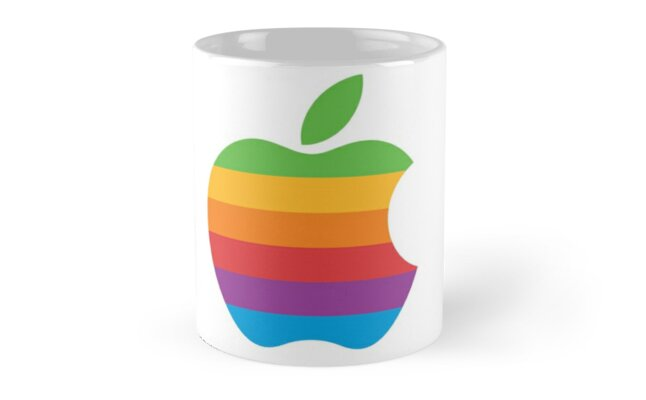 Vintage Apple Logo by Alfie Akers