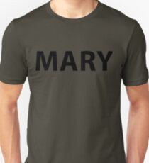 MARY ARMY Slim Fit T-Shirt