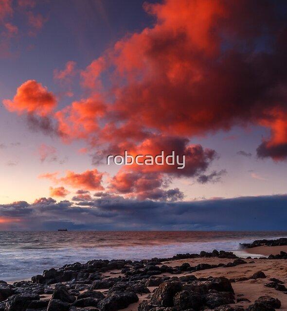Rocky Sunset by robcaddy