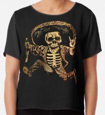 Posada Day der Toten Outlaw Chiffontop
