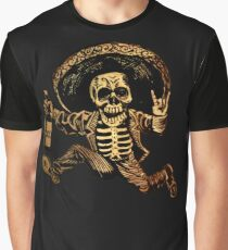 Posada Day of the Dead Outlaw Graphic T-Shirt