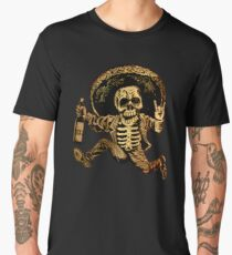 Posada Day of the Dead Outlaw Men's Premium T-Shirt