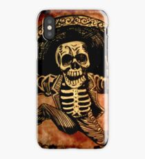 Posada Day of the Dead Outlaw iPhone Case