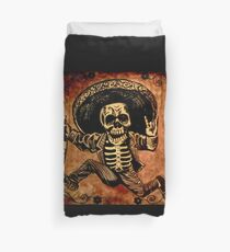 Posada Day of the Dead Outlaw Duvet Cover