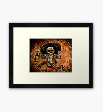 Posada Day of the Dead Outlaw Framed Print