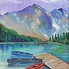 Lake Boat by DarkRubyMoon