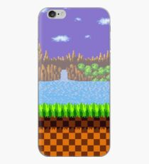 Green Hill Zone iPhone Case