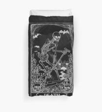 Death Card Duvet Cover
