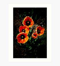 Fivelips Art Print