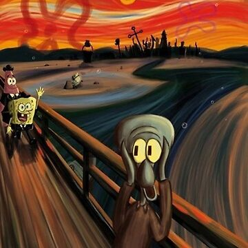 Squidward Q. Tentacles Scream by titanthony