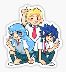 BNHA Big 3 Sticker Sticker