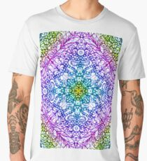 Mehndi Ethnic Style Men's Premium T-Shirt