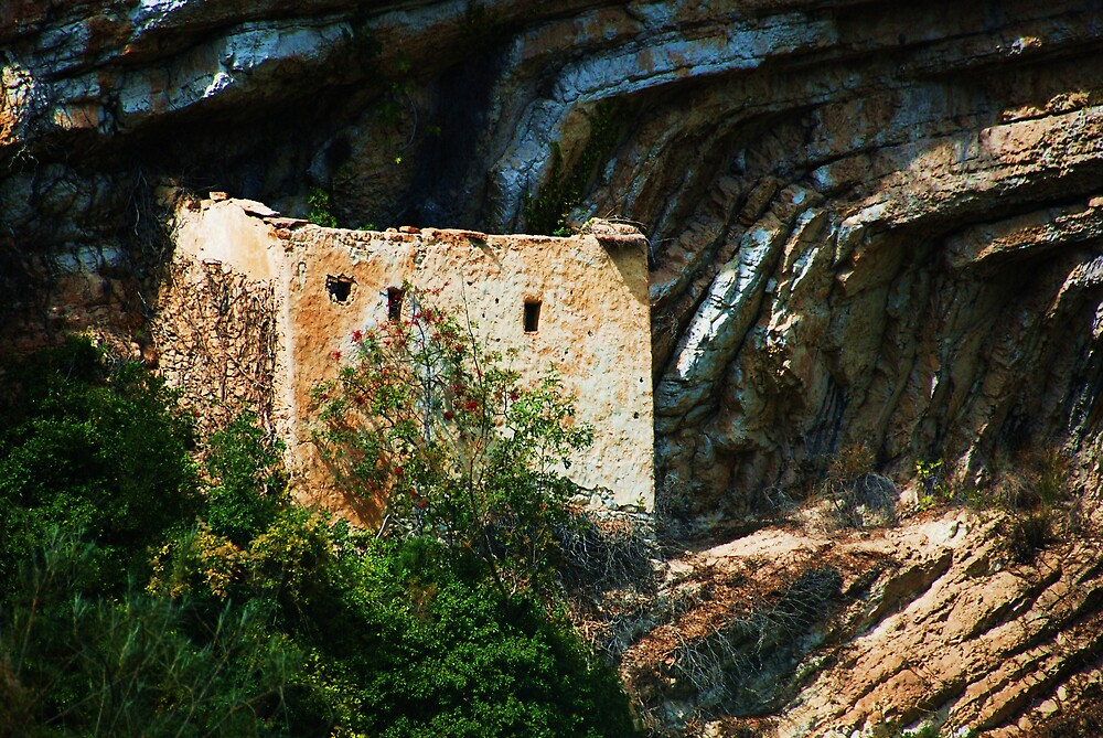 ruin on the cliff by Susan6110