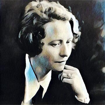 Edna Saint Vincent Millay - Stylized by jaxxmc