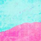 Mint and pink floss by Deborah McGrath