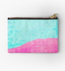 Mint and pink floss Studio Pouch