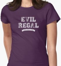 Once Upon a Time - Evil Regal Womens Fitted T-Shirt