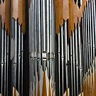 Modern pipe organ by Jenny Setchell