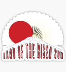 the Land of the Risen Son Sticker