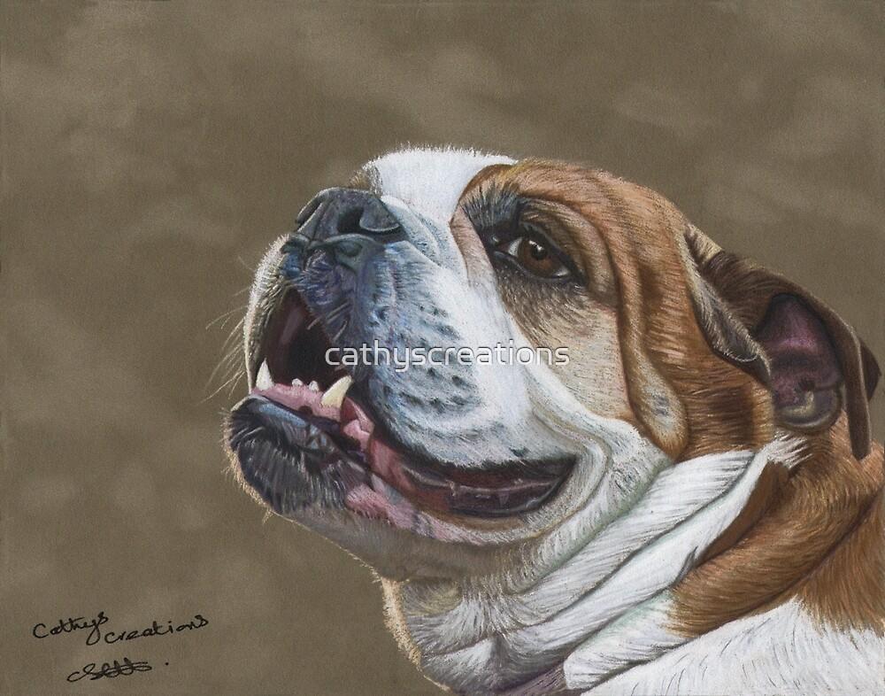 Bulldog by cathyscreations