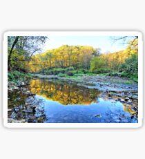 Autumn On Brush Creek Sticker
