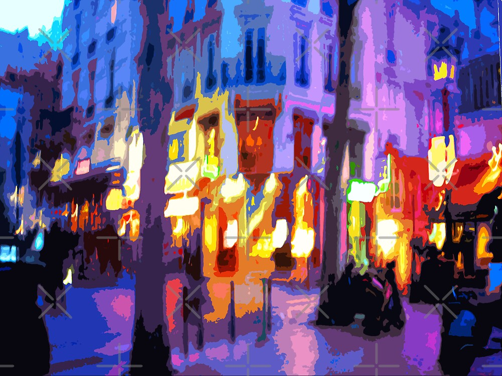 Paris Quartier Latin 02 by Yuriy Shevchuk