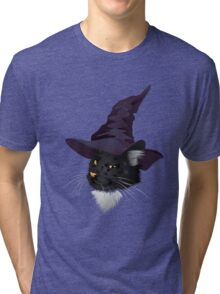 Kitty Witchy Tri-blend T-Shirt